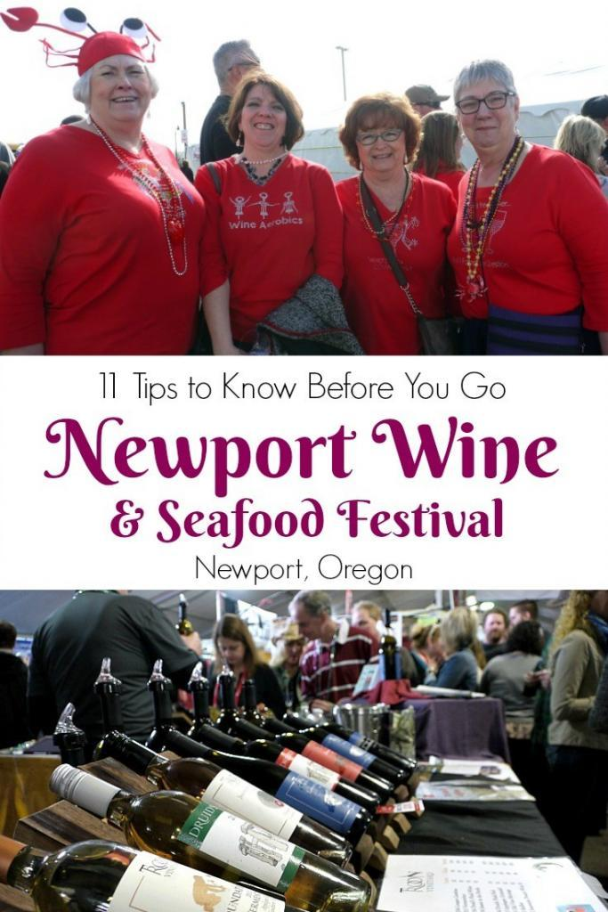 11 Things You Need to Know Before Attending the Newport Seafood & Wine Festival | The Good Hearted Woman #traveloregon #oregoncoast #winefestivals #festivaltips