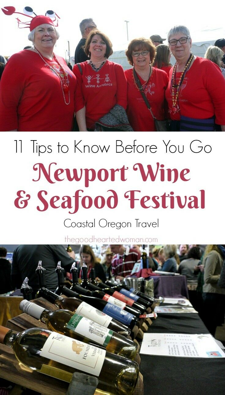11 Things You Need to Know Before Attending the Newport Seafood & Wine Festival | The Good Hearted Woman