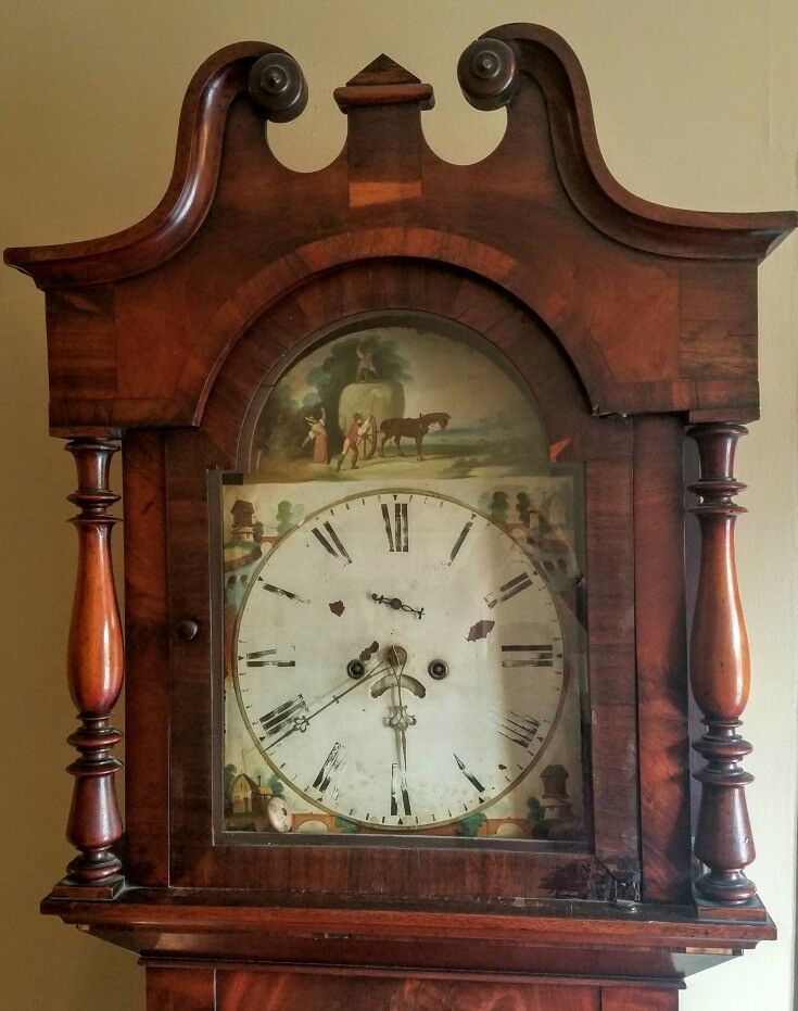 Clock face - Southern Oregon Travel: McCully House {Jacksonville} | The Good Hearted Woman