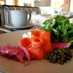 Lox & Bagels at Meridian, Headlands Coastal Lodge & Spa | The Good Hearted Woman