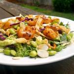 Thai Shrimp Salad with Spicy Peanut Sauce & Chili-Lime Dressing {Inspired by Applebee's} | The Good Hearted Woman
