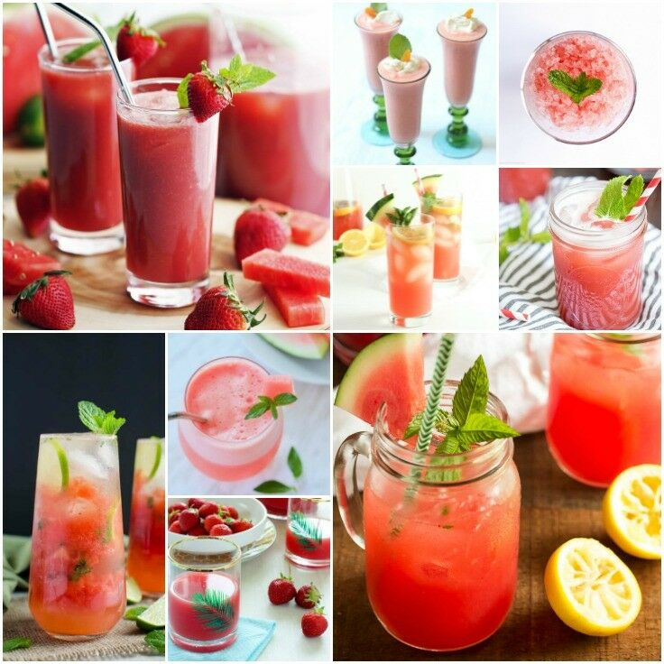 Kid-Friendly Beverages - Watermelon Recipes | The Good Hearted Woman