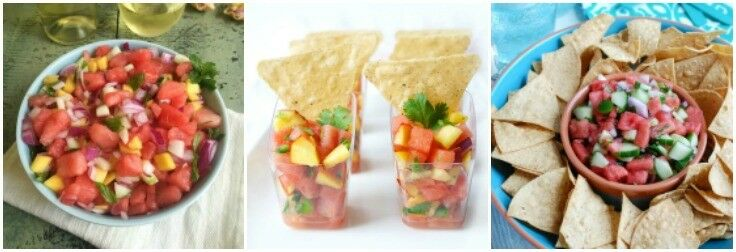 Salsas - Watermelon Recipes | The Good Hearted Woman