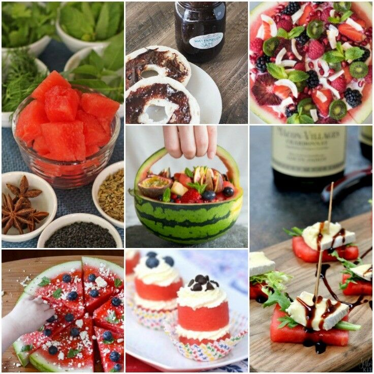 Recipe Mix - How to Pick a Perfect Watermelon, plus 101 Amazing Watermelon Ideas | The Good Hearted Woman