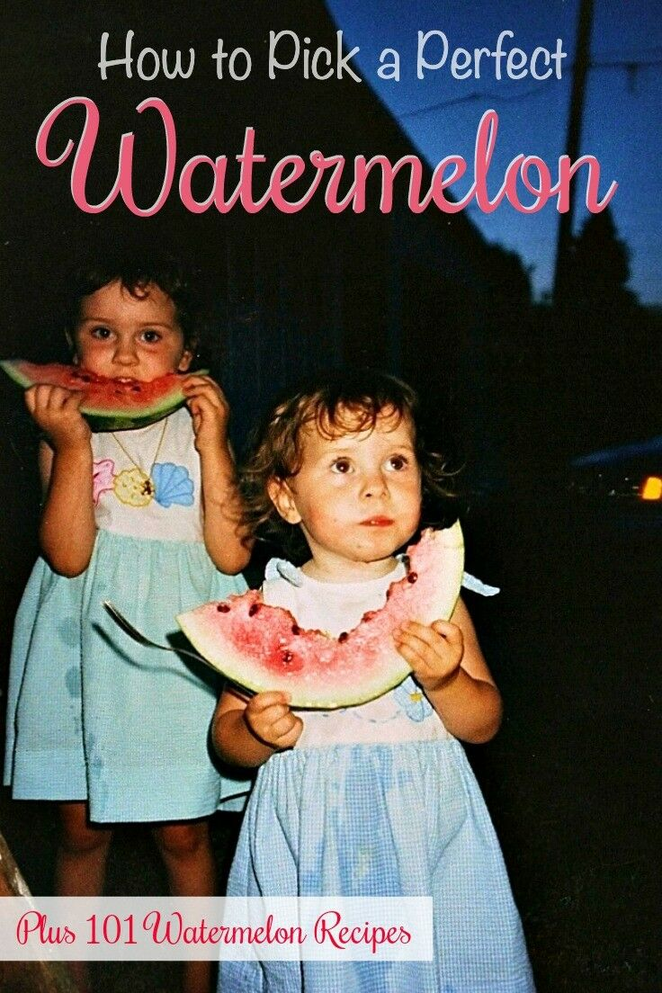 How to Pick a Watermelon {+ 101 Watermelon Recipes} | The Good Hearted Woman