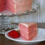 Southern Triple-layer Fresh Strawberry Cake {from Scratch} | The Good Hearted Woman