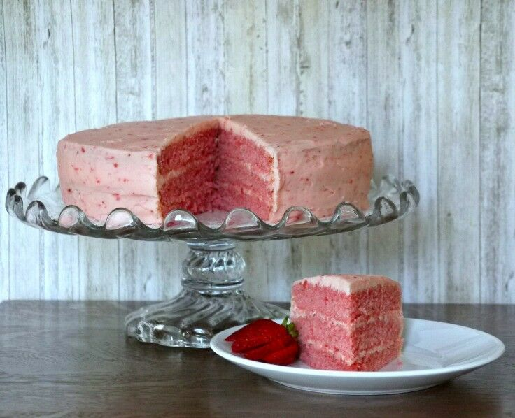 Southern Triple-layer Fresh Strawberry Cake from Scratch | The Good Hearted Woman