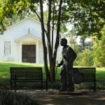 Elvis' Birthplace: Statue & Church - Day Trip from Memphis: Tupelo, Mississippi {Birthplace of Elvis} | The Good Hearted Woman