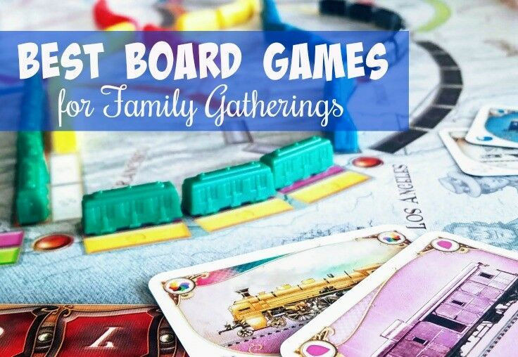 The Best Board Games for Family Gatherings | The Good Hearted Woman