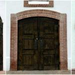El Paso Mission Trail - Chapel Doors | The Good Hearted Woman