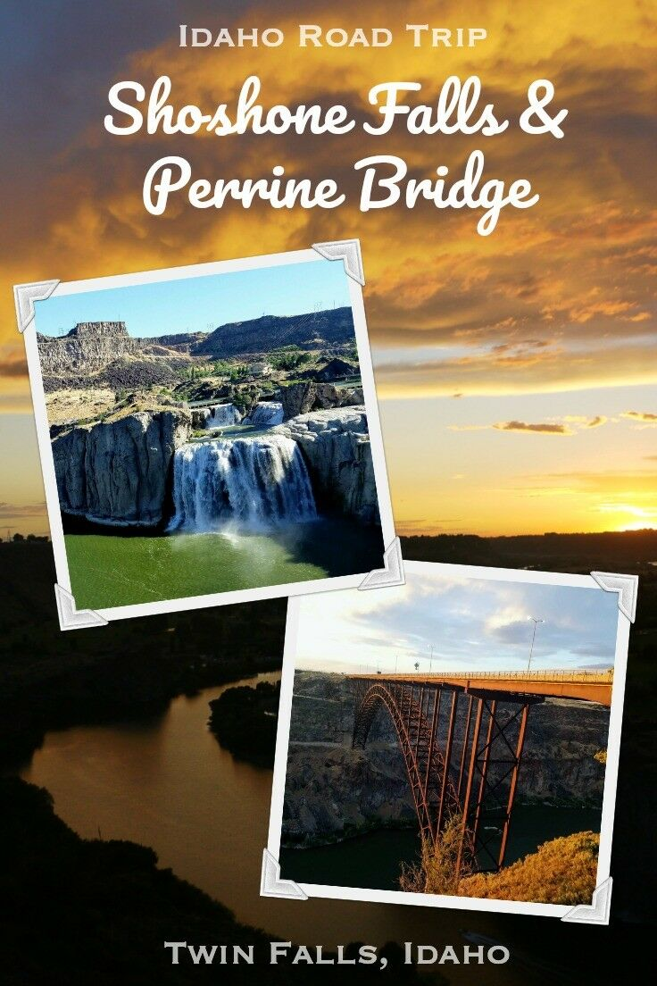 Shoshone Falls & Perrine Bridge {Twin Falls, Idaho} - Idaho Travel Info | The Good Hearted Woman
