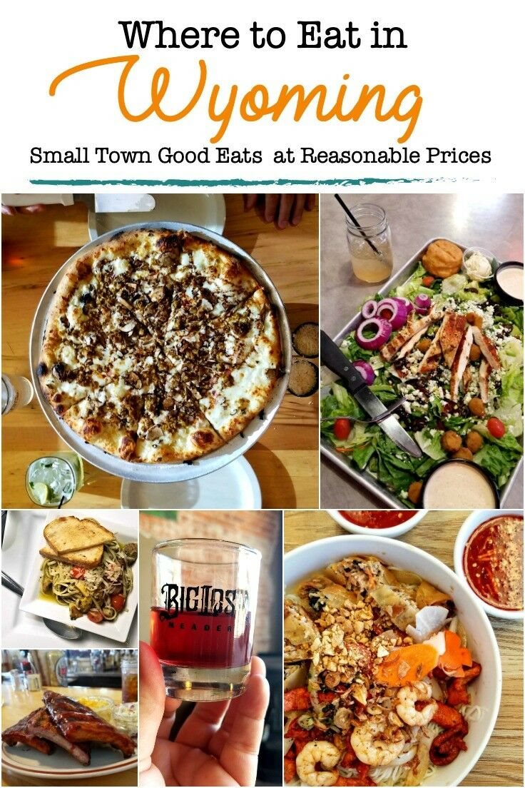 Wyoming Restaurants - Small Town Good Eats at Reasonable Prices | The Good Hearted Woman