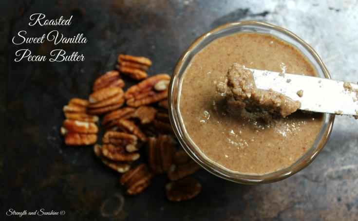 Roasted Sweet Vanilla Pecan Butter