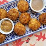 Sauerkraut Fritters with Bacon, Sausage & Cheese | Air-fryer recipe | The Good Hearted Woman #Oktoberfest #Airfryer #appetizer #easyrecipe #footballfood