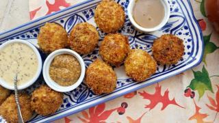 Crispy Sauerkraut Fritters {Easy Air Fryer Recipe}