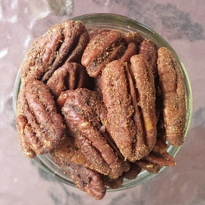 Gingerbread Pecans (Sugar-Free)