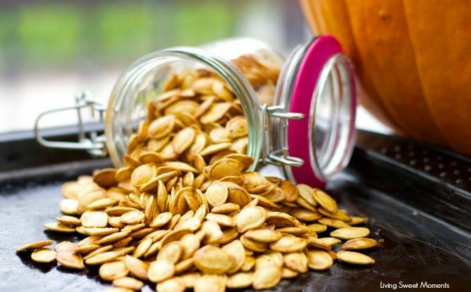 Crunchy Roasted Pumpkin Seeds
